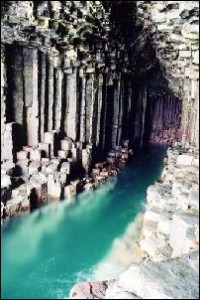 Finga'ls Cave interior