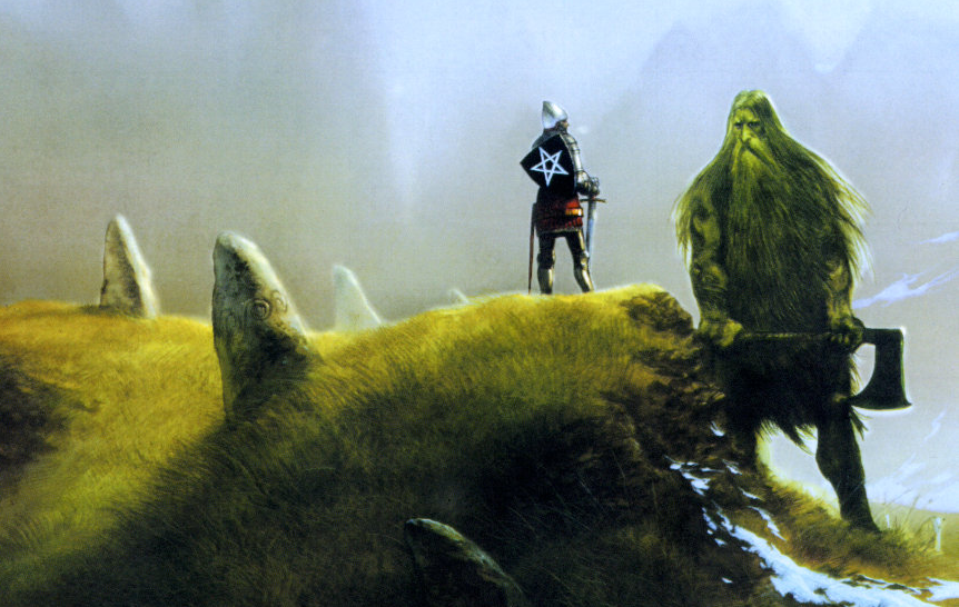 Gawain and the Green Knight by John Howe