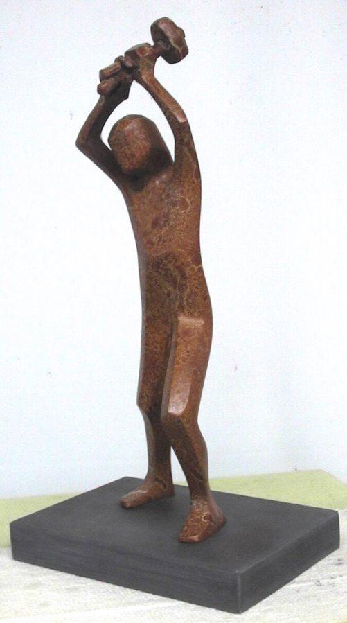 Goban Saor (Bronze) by Tanya Elliott Nyegard
