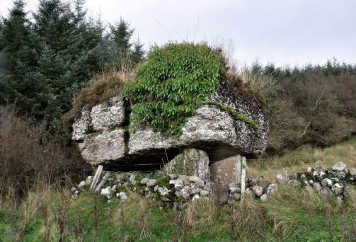 The Labby Rock in County Sligo: the traditional burial site of Nuada
