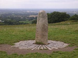 Lia Fáil - the stone of sovereignty at Tara