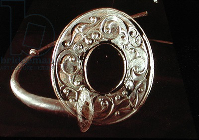 Trumpet, from Loughnashade, County Armagh (bronze)