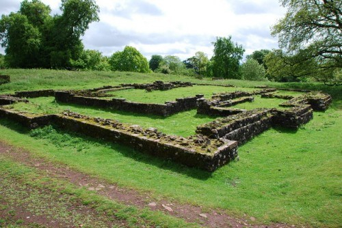 The temple complex at Lydney Park