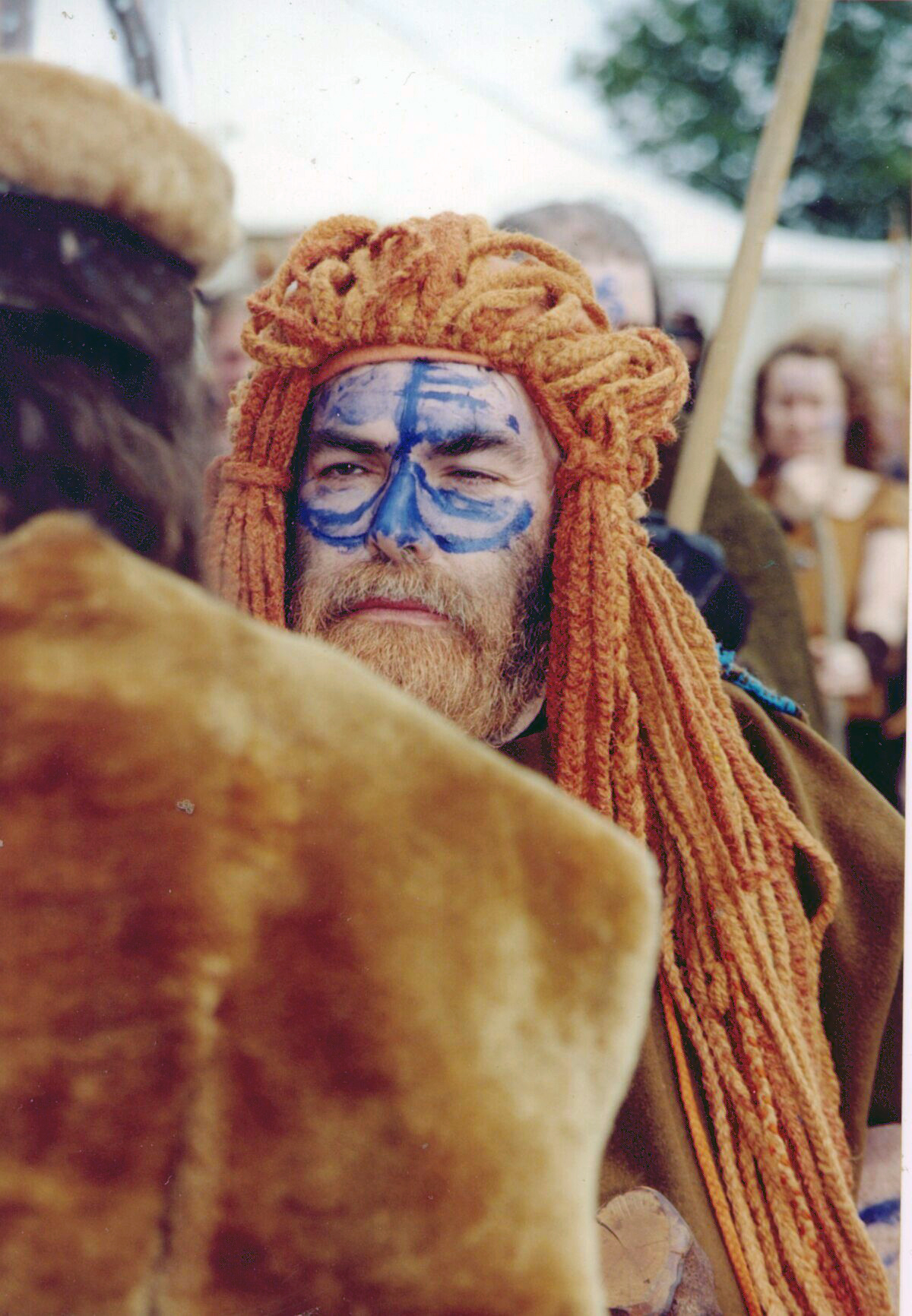 The Dagda, played by Daniel Maher, at Moytura 2000