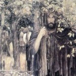 A painting of Pwyll by Alan Lee