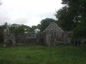 Some of the ruins on Inis Clothrann