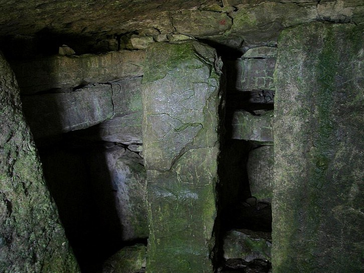 inside one of the carrowkeel cairn