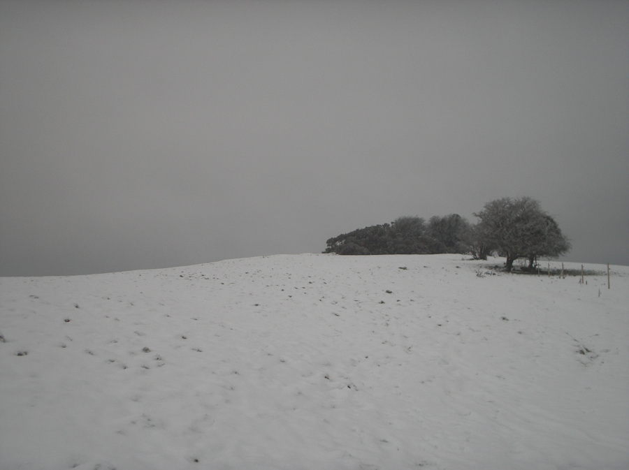 Sheebeg in the snow