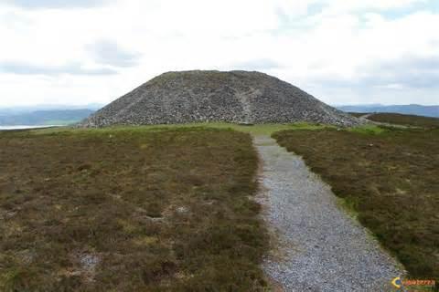 Medb's cairn on Knocknarea, County Sligo